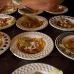 fritto di pasta e calamaro scottato